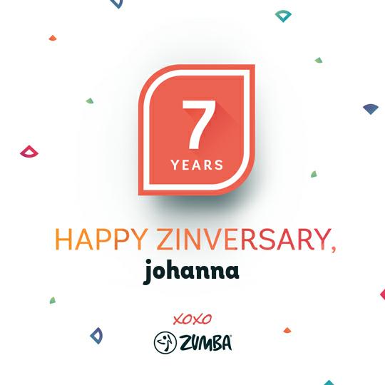 Happy 7-year ZINversary, Johanna!