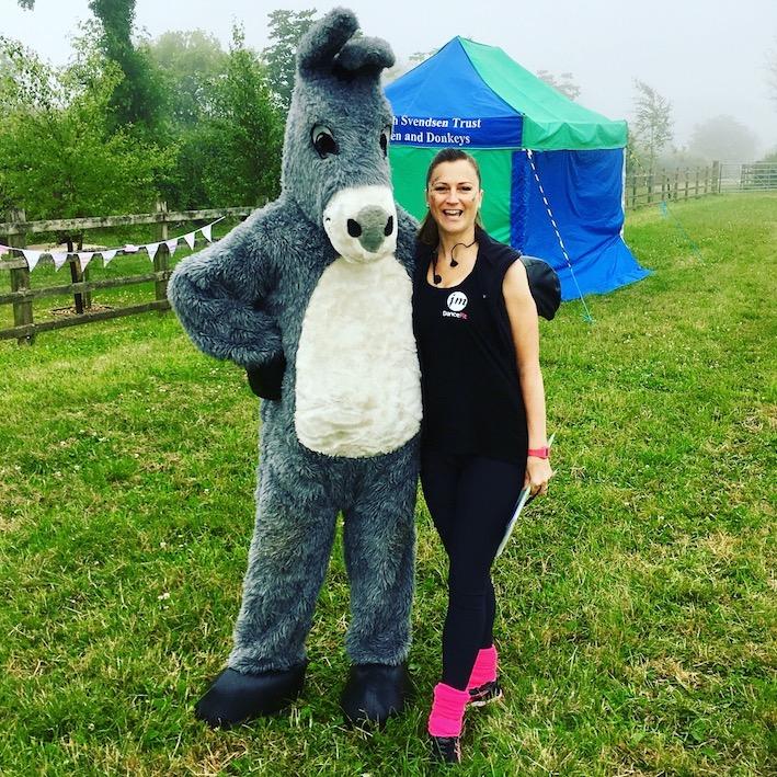 JM DanceFit Zumba Fun at Sidmouth Donkey Sanctuary