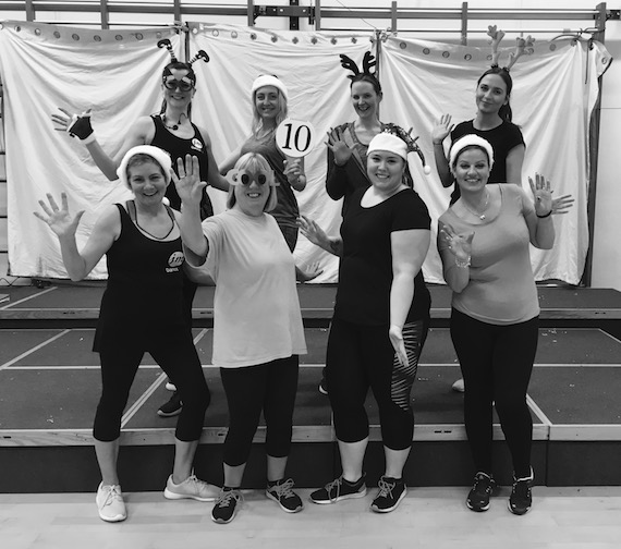 JM DanceFit Exeter Pre-Christmas Celebrations