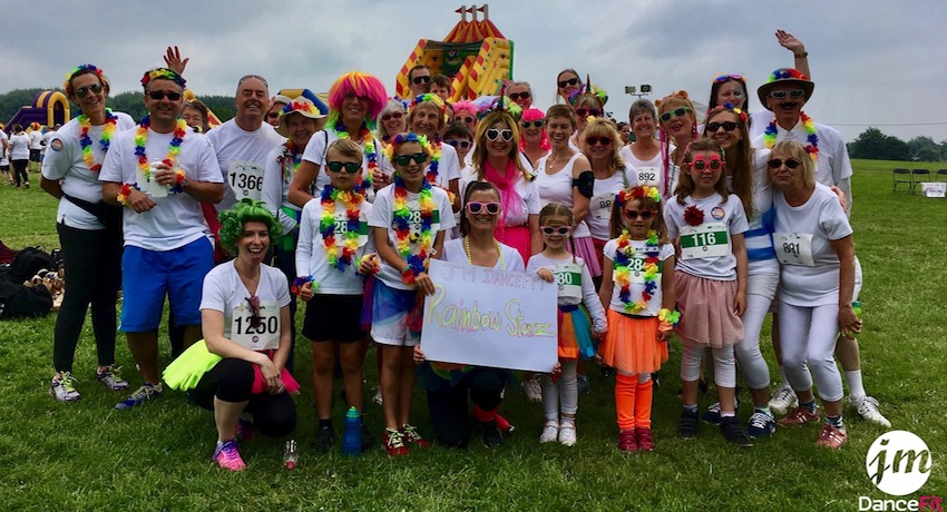 JM DanceFit Supports South West Children's Hospice with Rainbow 'Wiggle'