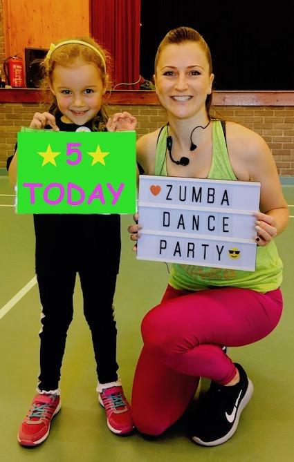 JM DanceFit Children's Zumba Dance Party - Musbury