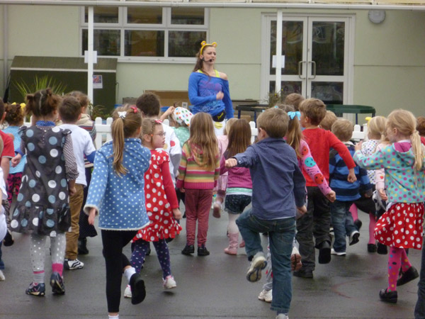 Sidmouth Primary School Pudsey's Children In Need Event