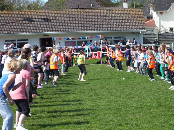 Sidmouth Rugby Football Club 40th Year Anniversary Zumbathon