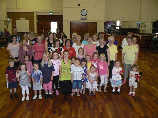 St Rupert's under 5's Pre-school Zumbathon